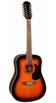 Фото BESTWOOD BMD104-12-SB (12-струнная гитара)