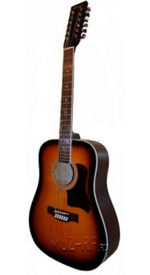 Фото CARAYA F64012B S (12-ти струнная гитара Акустическая, с металлическими струнами)