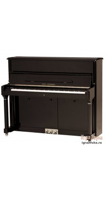 Фото W.STEINBERG PERFORMANCE P125E 190049-1CK (Пианино акустическое, черное, фурнитура хром)