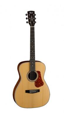 Фото CORT L100FC-O-NS SOLID LUCE SERIES (Акустическая гитара Cort L100-NAT Luce Series, 6 струн)