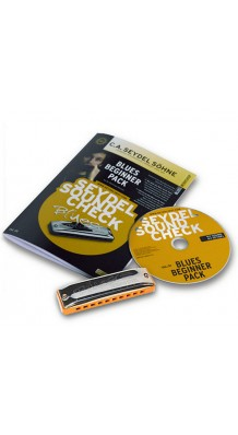 Фото SEYDEL SOHNE SOUNDCHECK VOL.1 STEEL - BLUES PACK (Губная гармошка + буклет и CD)