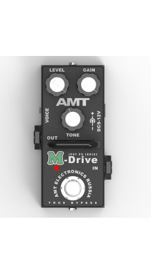 Фото AMT ELECTRONICS MD-2 M-DRIVE MINI (AMT Electronics	MD-2 M-Drive mini, педаль эффектов, перегруз.)