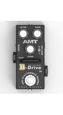 Фото AMT ELECTRONICS BD-2 B-DRIVE MINI (AMT electronics BD-2 B-Drive mini, педаль эффектов, перегруз.)