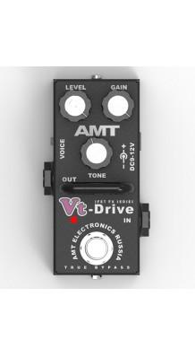 Фото AMT ELECTRONICS VTD-2 VT-DRIVE MINI (AMT Electronics VtD-2 Vt-Drive mini, педаль эффектов, перегруз.)