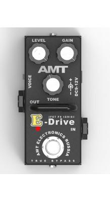 Фото AMT ELECTRONICS ED-2 E-DRIVE MINI (AMT Electronics ED-2 E-Drive mini, педаль эффектов, перегруз.)