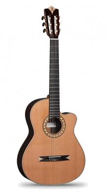 Фото ALHAMBRA 8.773 CROSSOVER CS-3 (Alhambra 8.773 Crossover CS-3 CW Serie S E12 Классическая гитара, со звукоснимателем.)