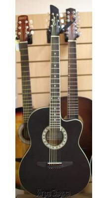 Фото CARAYA C931-BK (Черная акустическая 6-струнная гитара с вырезом)