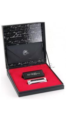 Коробка от губной гармошки Anniversary 150 TH hohner