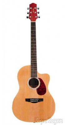 Фото NARANDA CAG280CNA (Акустическая фолк-гитара с вырезом, натуральный цвет)