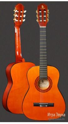 Фото FINELEGEND CG851-34 (Классическая гитара 3/4, гриф оборудован анкером)