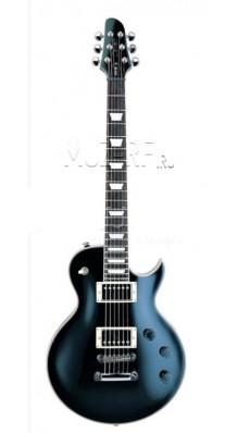 Фото CLEVAN CPA-80-BK (Электрогитара 6-струнная, форма Les Paul, цвет - черный)