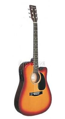 Caraya F 631 CEQ-BS Электроакустическая гитара