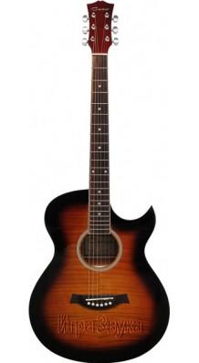 Фото CARAYA F531-BS (Акустическая гитара с вырезом, рекомендуем)