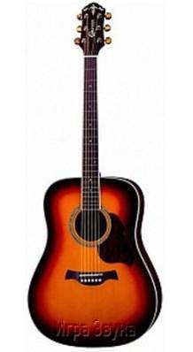 Фото CARAYA F600-BS (Акустическая 6-струнная гитара с широким корпусом)