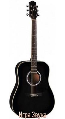 Фото NARANDA DG220BK (Акустическая гитара 6-струнная, металлические струны)