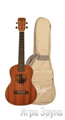 Фото FLIGHT NUT310 (Тенор укулеле с плотным чехлом, корпус - сапеле (красное дерево))