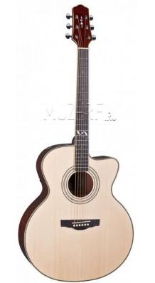 Фото NARANDA J303CN (Гитара акустическая С вырезом, струны металлические, форма Jumbo)