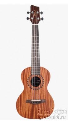 Фото JOECOEY JUC/T-T1 (Концертная укулеле с оригинальной гравировкой, чехол в комплекте)