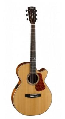 Фото CORT L100F-NS SOLID LUCE SERIES (Электро-акустическая гитара из массива ели, с вырезом, цвет натуральный матовый)