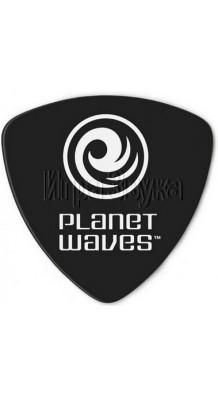 Фото PLANET WAVES BLACK CELLULOID (Медиатор, широкий, треугольная форма)