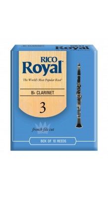 Фото RCB1030 RICO ROYAL (Трости для кларнета Вb, размер 3.0, 10 штук)