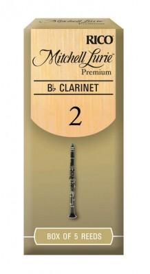 Фото RICO RMLP5BCL200 MITCHELL LURIE PREMIUM (Трости для кларнета Bb, размер 2.0, 5 штук)