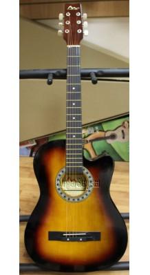 Фото SM C-81C-SB (Акустическая недорогая гитара с вырезом)