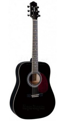 Фото NARANDA DG120BK (Акустическая гитара с объемным звучанием, цвет - черный)