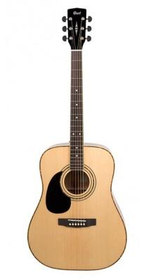 Фото CORT AD880-LH-NS STANDARD SERIES (Леворукая акустическая гитара, цвет натуральный)