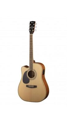 Фото CORT AD880CE-LH-NS STANDARD SERIES (Леворукая электро-акустическая гитара, с вырезом)