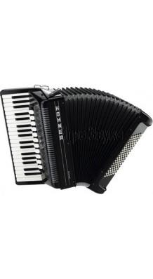 Фото HOHNER AMICA III 72 BK (Аккордеон 3/4 Трехголосный, 34 клавиши, 5 регистров; 72 баса, 3 регистра)