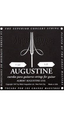 Фото AUGUSTINE CLASSIC-BLACK-SP (Струны для классической гитары, нейлон слабого натяжения, США)
