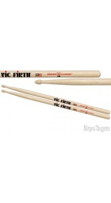 Фото VIC FIRTH 5B (Барабанные палочки 5B с деревянным наконечником)