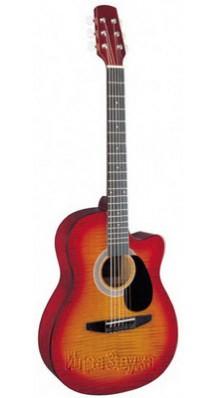 Фото BESTWOOD MCA-101C-CS (Фолк-гитара Акустическая 6-струнная, рекомендуем)