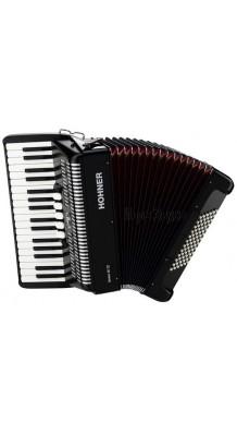 Фото HOHNER BRAVO III 72 BLACK (3/4 аккордеон 3-х голосный, 34х5/72х2, готовый аккомпанемент)