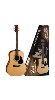 Фото CORT CAP-810-OP TRAILBLAZER (Акустическая гитара + аксессуары)