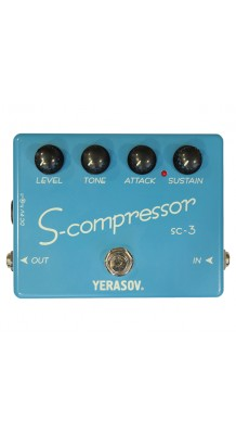 Фото YERASOV SC-3 COMPRESSOR SUSTAINER (Yerasov SC-3 Compressor Sustainer, педаль эффектов, компрессор.)