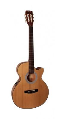 Фото CORT CEC1-OP CLASSIC SERIES (Электро-акустическая классическая гитара, с вырезом, цвет натуральный)