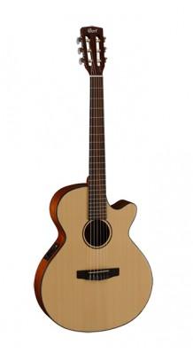 Фото CORT CEC3-NS CLASSIC SERIES (Классическая гитара со звукоснимателем, с вырезом, цвет натуральный)
