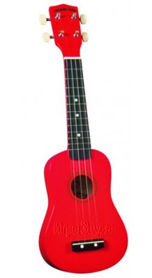 Фото DIAMOND HEAD DHU-102 (Укулеле Сопрано, цвет - красный, в комплекте с тонким чехлом)