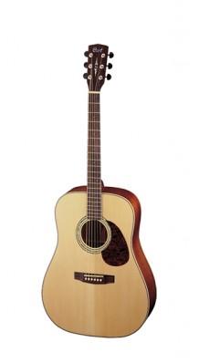 Фото CORT EARTH100-NS EARTH SERIES (Массивная акустическая гитара, цвет натуральный матовый)