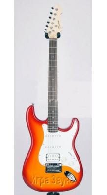Фото CARAYA E-215 CS (Электрогитара типа Stratocaster)