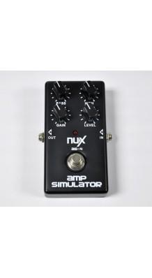 Фото NUX AS-4 MODERN AMPLIFIER SIMULATOR (Педаль эффектов, эмулятор современных усилителей)