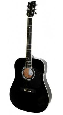 Фото CARAYA F600-BK (Черная акустическая гитара)
