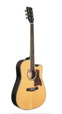 Фото CARAYA F641 (Акустическая гитара, с вырезом, цвет натуральный)