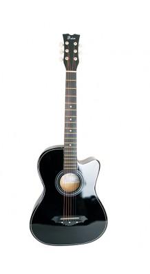 Фото FOIX FFG-1038BK (Акустическая гитара, цвет-черный, с вырезом,)