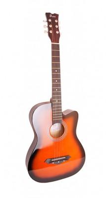 Фото FOIX FFG-1038SB (Акустическая гитара, цвет-санберст, с вырезом)