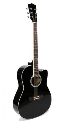 Фото FOIX FFG-1039BK (Акустическая гитара, черная, с вырезом)