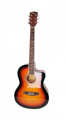 Фото FOIX FFG-1039SB (Акустическая гитара, санберст, с вырезом)