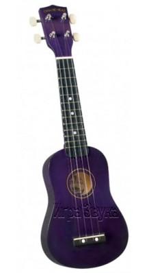 Фото DIAMOND HEAD DHU-108 PP (Фиолетовая сопрано укулеле, чехол в комплекте)